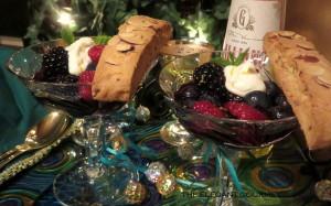 BERRIES IN ZIN with Galliano Cream