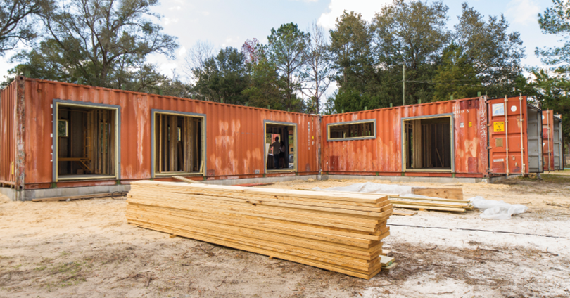 It s time to move into a shipping container home home for Building a house in florida